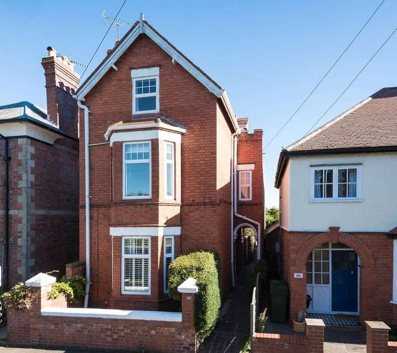 4 Bedrooms Detached House for sale in Mount Street, Shrewsbury, Shropshire