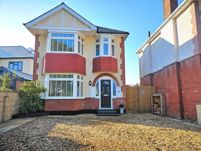 3 Bedrooms Detached House for sale in Dorchester Road, Oakdale, Poole