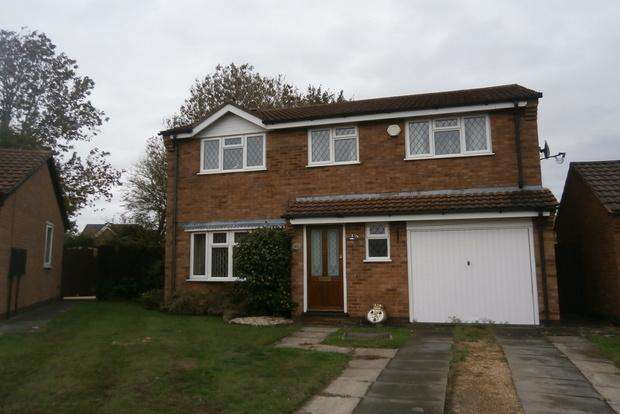 4 Bedrooms Detached House for sale in Timberwood Drive, Groby, Leicester, LE6