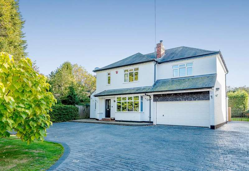 4 Bedrooms Detached House for sale in Field House, Dalby Avenue, Leicestershire, LE7