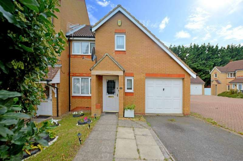 3 Bedrooms End Of Terrace House for sale in Dunraven Avenue, Luton, Bedfordshire, LU1 1TP