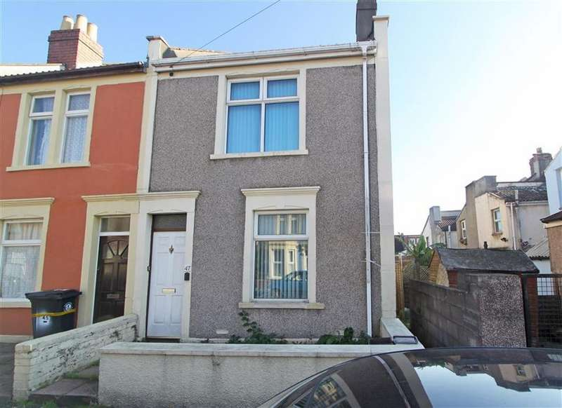 2 Bedrooms End Of Terrace House for sale in Jasper Street, Bedminster, Bristol