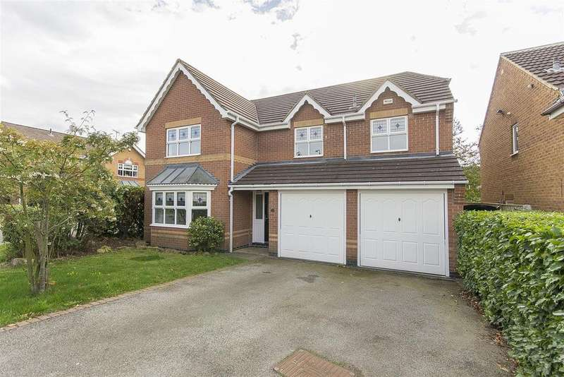 5 Bedrooms Detached House for sale in The Rusk, Barlborough, Chesterfield