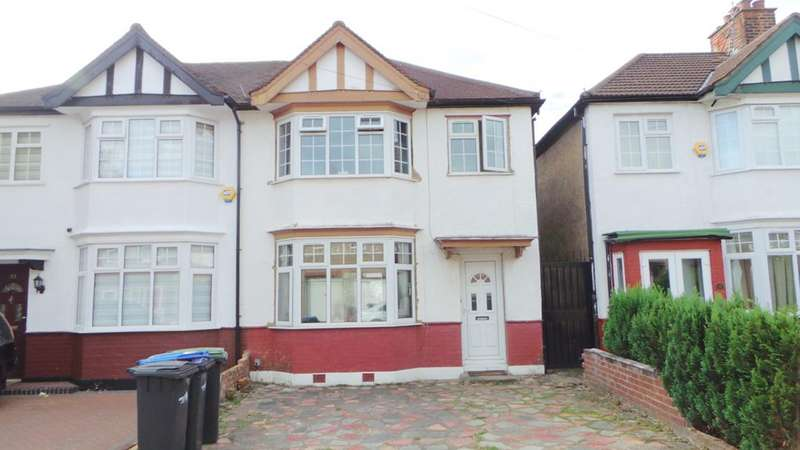 4 Bedrooms Semi Detached House for sale in Hewish Road, Edmonton, London, N18