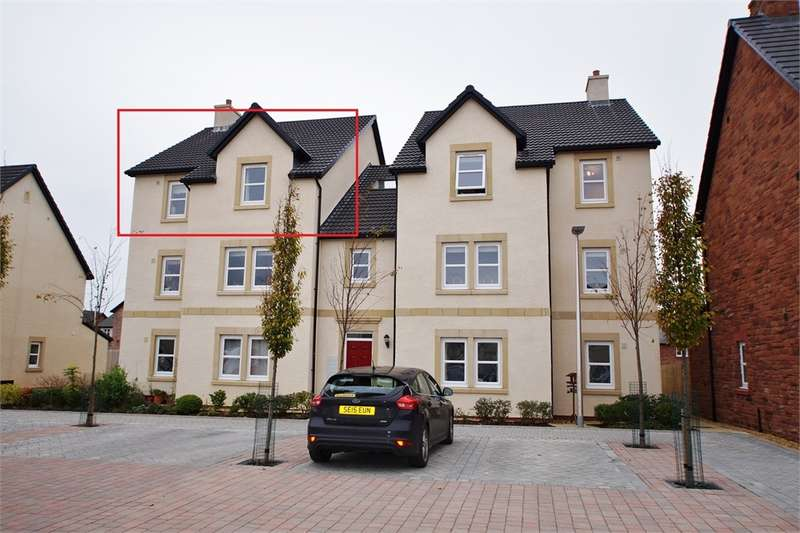 2 Bedrooms Flat for sale in CA5 7LF Bishops Way, Dalston, Carlisle, Cumbria