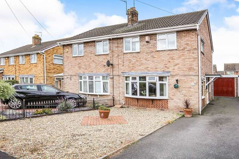 3 Bedrooms Semi Detached House for sale in Brook Close, Coven, Wolverhampton, WV9