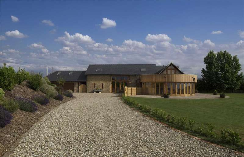 5 Bedrooms Barn Conversion Character Property for sale in Longworth, Abingdon, Oxfordshire