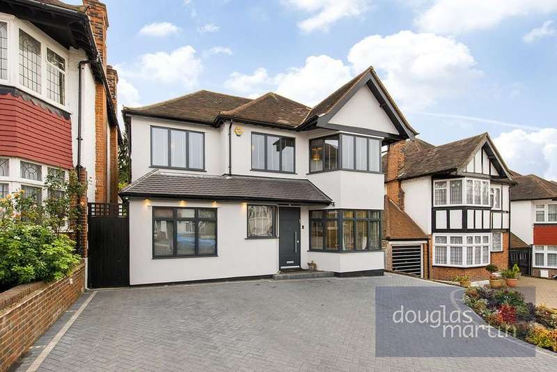 6 Bedrooms Detached House for sale in Edgeworth Crescent, London, NW4