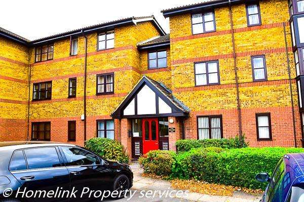 2 Bedrooms Flat for sale in Redwood Grove, Bedford, Bedfordshire, MK42 9JL