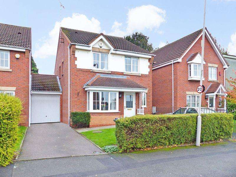 4 Bedrooms Detached House for sale in Durham Drive, West Bromwich, West Midlands