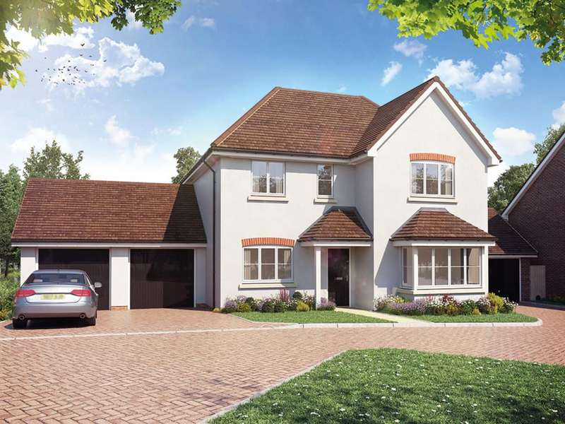 5 Bedrooms Detached House for sale in Sheldons Reach, Reading Road, Hook