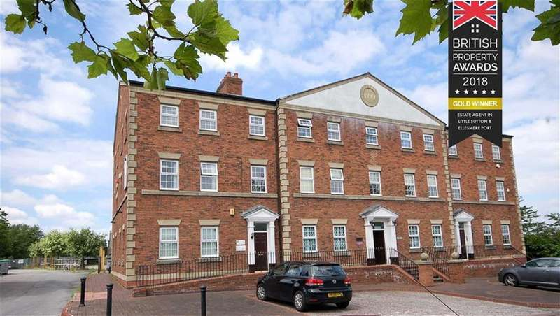 2 Bedrooms Apartment Flat for sale in Lower Mersey Street, Ellesmere Port