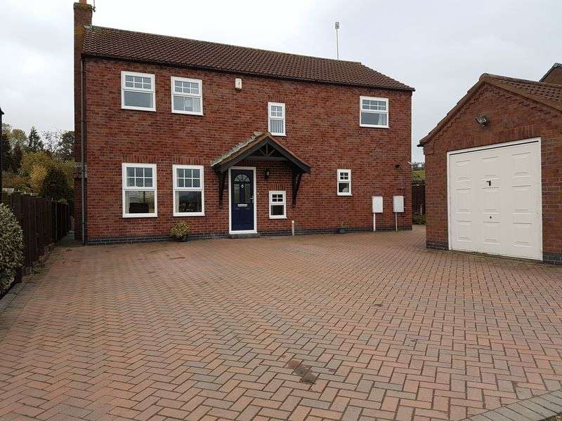 4 Bedrooms Property for sale in Field End Close, Loughborough