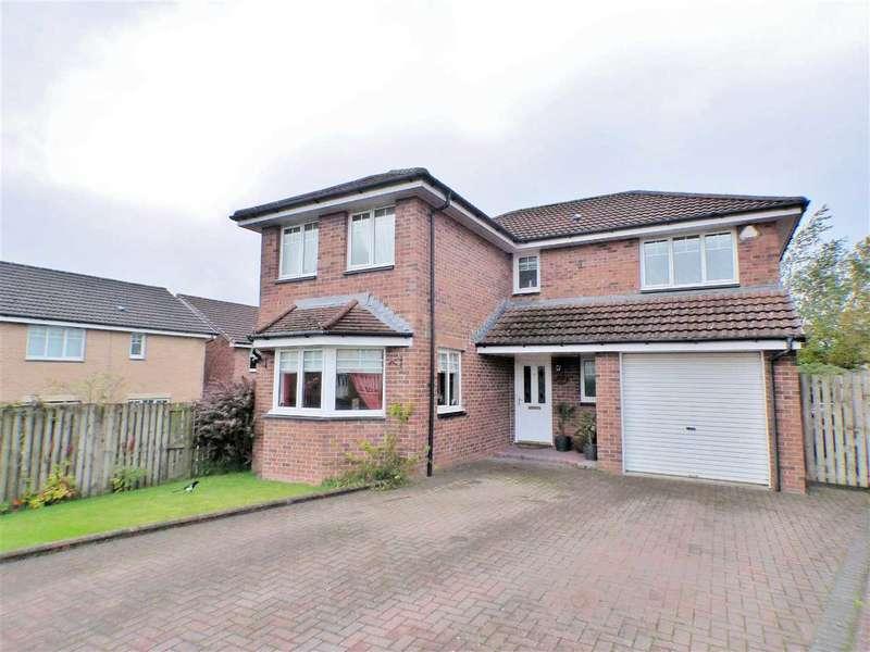 4 Bedrooms Detached House for sale in Burnside View, Lindsayfield, EAST KILBRIDE