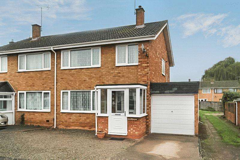 3 Bedrooms Semi Detached House for sale in Glendower Close, Hereford