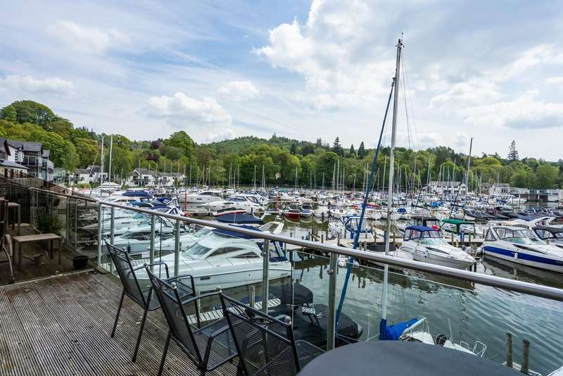 2 Bedrooms Apartment Flat for sale in 19 Windward Way, The Marina, Bowness-On-Windermere, LA23 3JQ