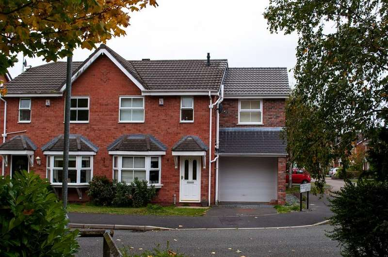 3 Bedrooms Semi Detached House for sale in Alvingham Close, Northwich, CW9