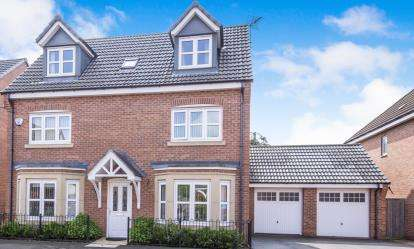 5 Bedrooms Detached House for sale in Harrow Place, Leicester