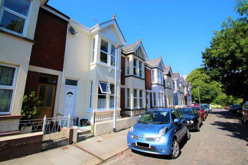 3 Bedrooms Terraced House for sale in Edgcumbe Avenue, Plymouth