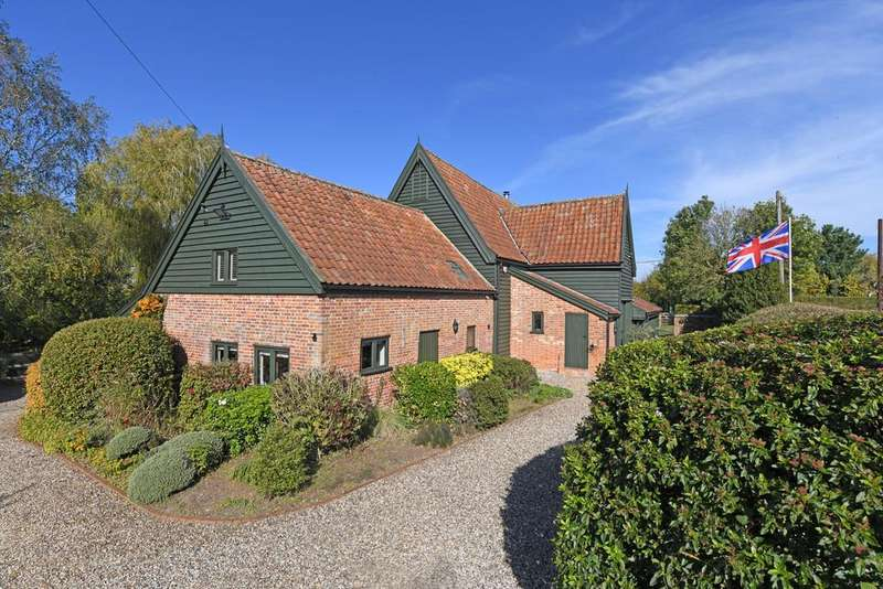 4 Bedrooms Barn Conversion Character Property for sale in Helmingham, Nr Otley, Suffolk
