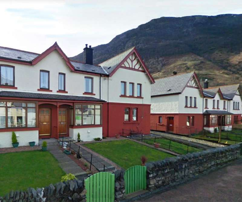 3 Bedrooms Terraced House for sale in 7, Appin Road, Kinlochleven