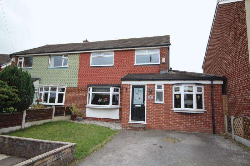 4 Bedrooms Semi Detached House for sale in LORRAINE CLOSE, Heywood OL10 2JL