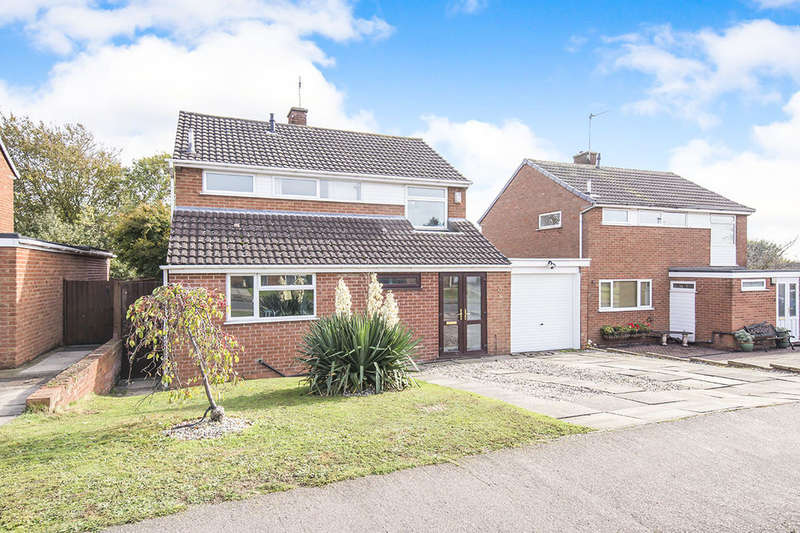 3 Bedrooms Detached House for sale in Lynwood Close, Desford, Leicester, LE9