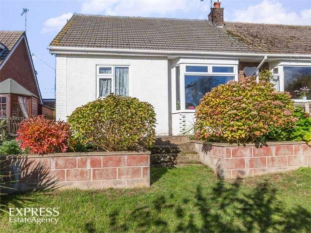 3 Bedrooms Semi Detached Bungalow for sale in Cherry Holt, Caistor, Market Rasen, Lincolnshire