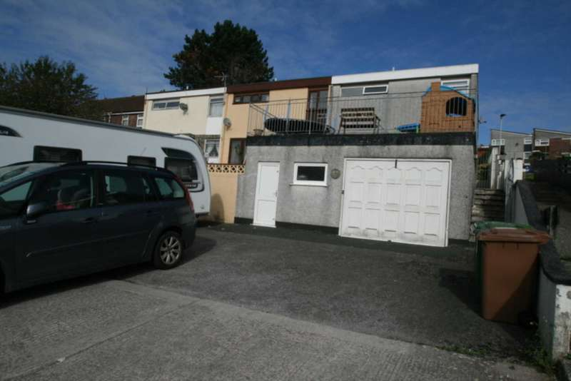 3 Bedrooms End Of Terrace House for sale in 23 Saunders Walk, Plymouth
