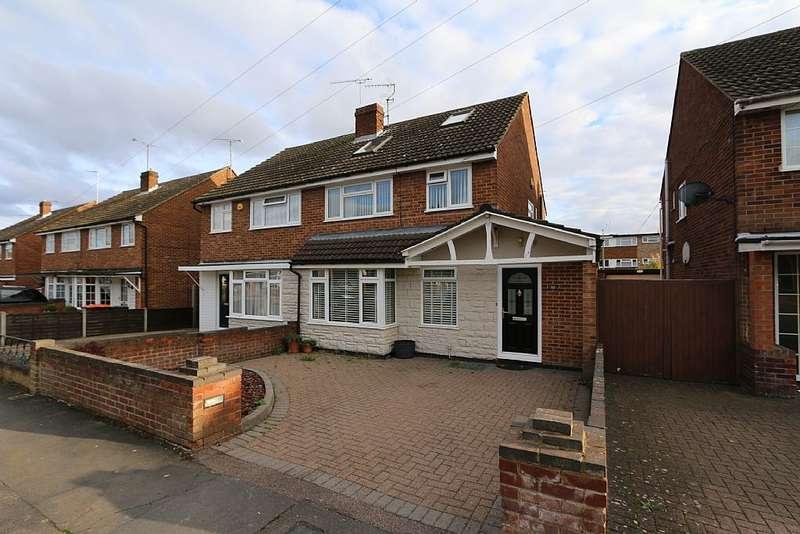 4 Bedrooms Semi Detached House for sale in St. Michaels Avenue, Houghton Regis, Bedfordshire, LU5 5DW