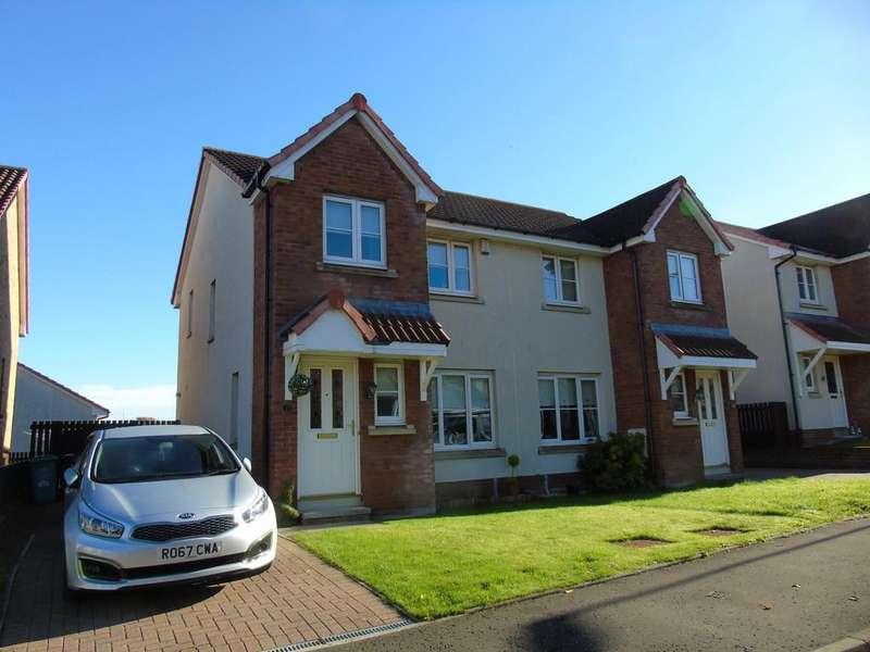 3 Bedrooms Semi Detached House for sale in Brambling Road, Carnbroe, Coatbridge, North Lanarkshire, ML5