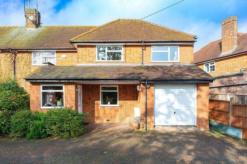 5 Bedrooms Semi Detached House for sale in Hill End Lane, St. Albans, Hertfordshire