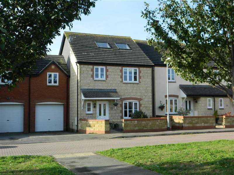 5 Bedrooms Semi Detached House for sale in St Michaels Gardens, South Petherton, Somerset, TA13