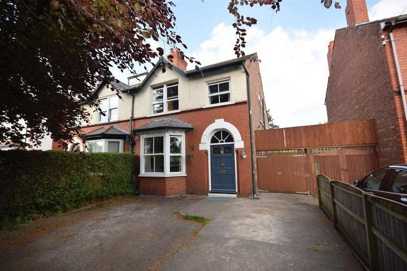 4 Bedrooms Semi Detached House for sale in Chester Road, Whitby, Ellesmere Port