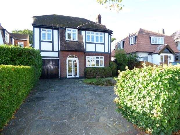4 Bedrooms Detached House for sale in Woodside, Leigh-on-Sea, Leigh on sea, SS9 4QU