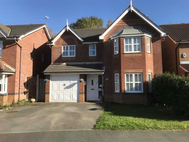 4 Bedrooms Detached House for sale in Dickens Close, Kirkby