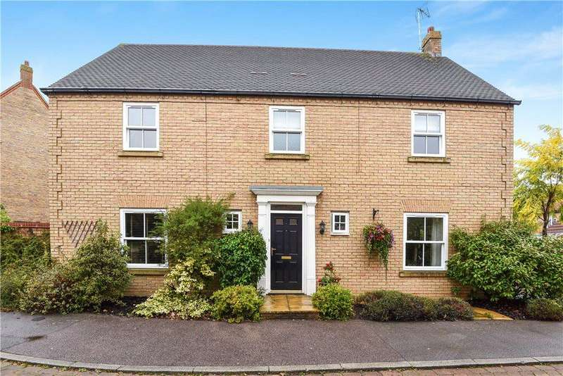 4 Bedrooms Detached House for sale in Tenby Grove, Kingsmead, Milton Keynes, Buckinghamshire