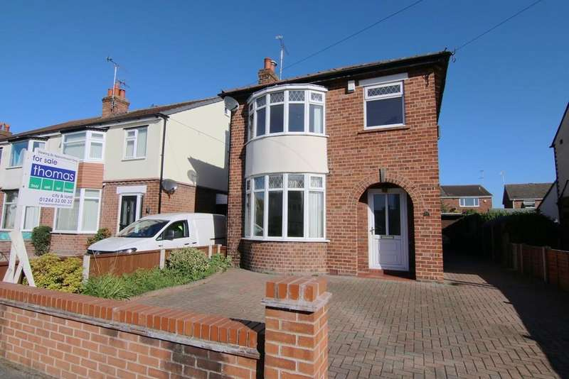 3 Bedrooms Detached House for sale in Shaftesbury Avenue, Vicars Cross, Chester, CH3