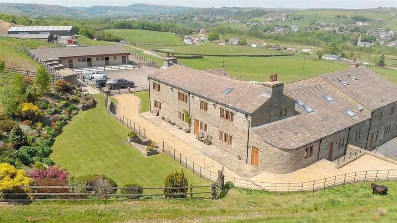 5 Bedrooms Semi Detached House for sale in Sheephouse Farm, Bacup, Rossendale, Lancashire