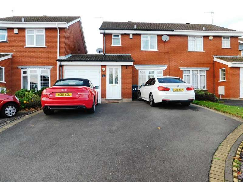 3 Bedrooms Semi Detached House for sale in Fladbury Close, Dudley