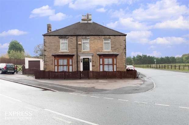4 Bedrooms Detached House for sale in Valley Terrace, Howden le Wear, Crook, Durham