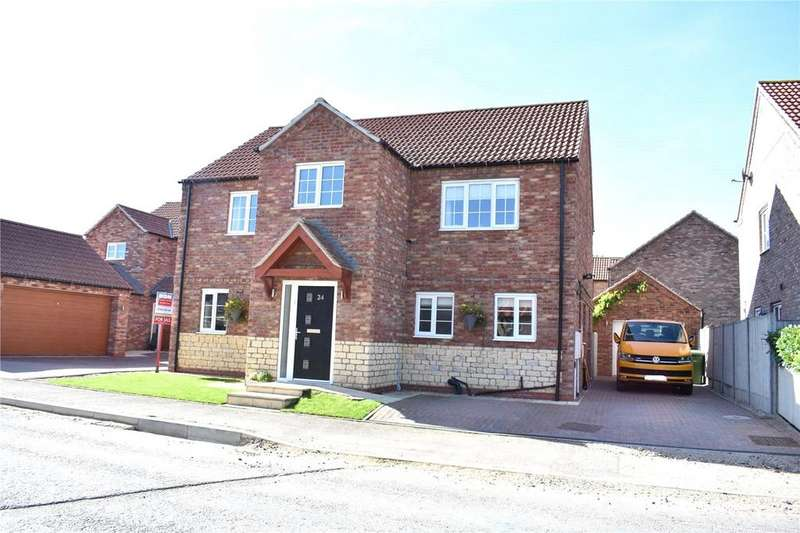 4 Bedrooms Detached House for sale in Franklin Way, Barrow Upon Humber, North Lincolnshire, DN19
