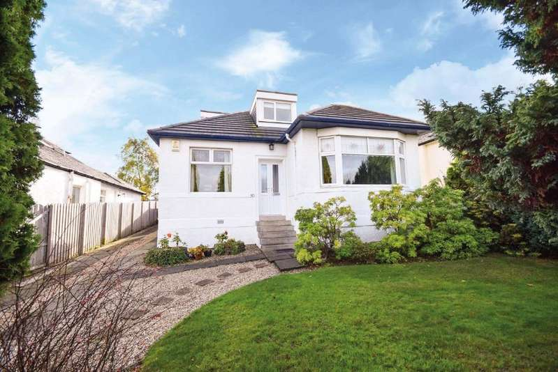 4 Bedrooms Detached Bungalow for sale in Stamperland Hill , Clarkston , Glasgow, G76 8AF