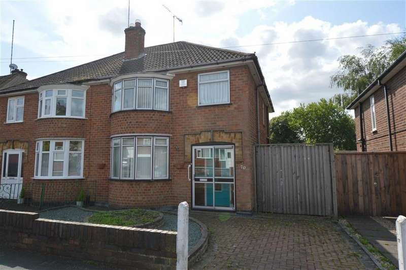 3 Bedrooms Semi Detached House for sale in Brockenhurst Drive, Braunstone Town