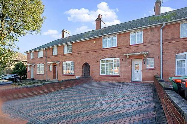 3 Bedrooms Terraced House for sale in Garden Road, Dunstable, Bedfordshire, LU6 3JD