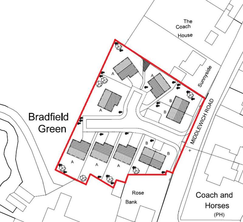 Land Commercial for sale in Middlewich Road, Bradfield Green