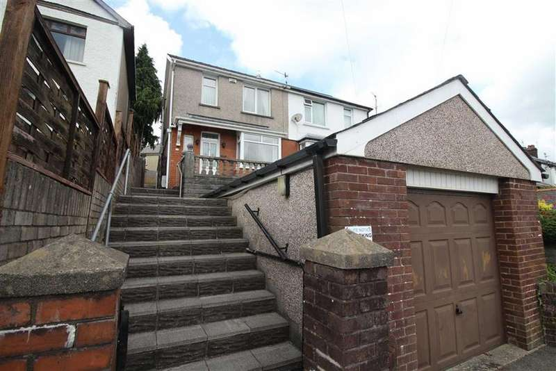 3 Bedrooms Semi Detached House for sale in Broadway, Pontypool