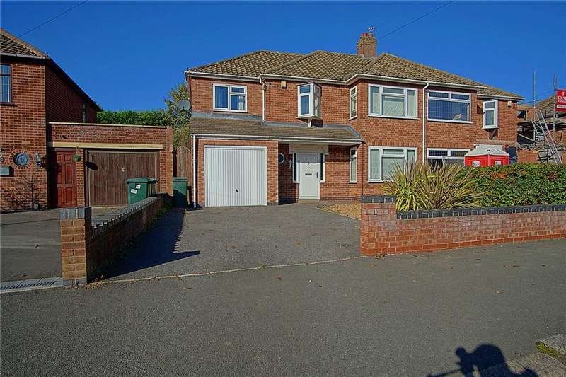 4 Bedrooms Semi Detached House for sale in Shirley Road, Coventry, CV2