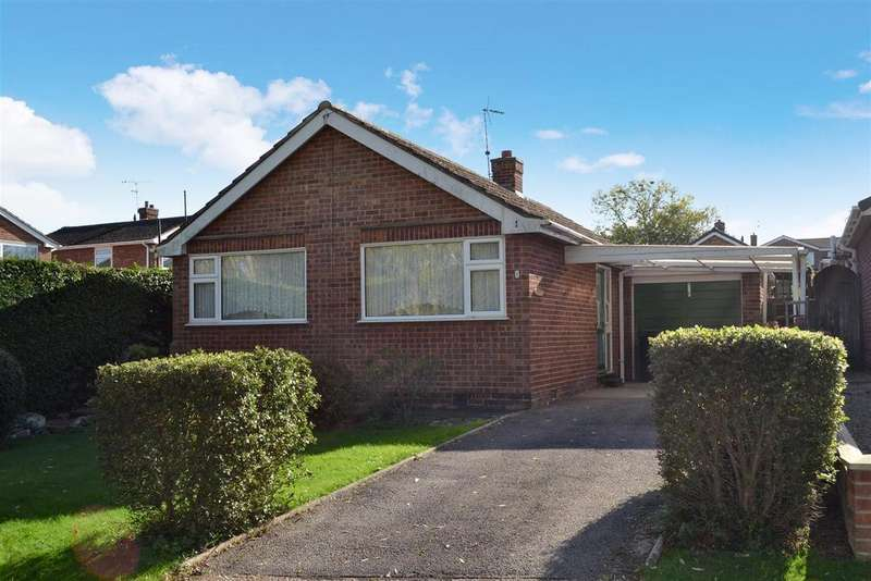 2 Bedrooms Detached Bungalow for sale in Pasture Road, Barrowby, Grantham
