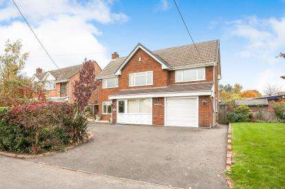 3 Bedrooms Detached House for sale in Back Lane, Shustoke, Coleshill, Birmingham